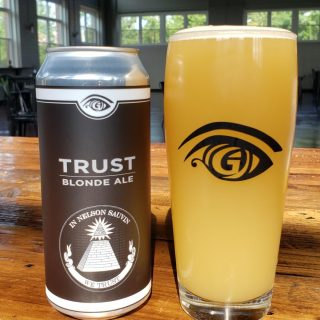 Great Awakening Brewery Craft Beer Release Trust Blonde Ale in Cans and On Tap in Westfield