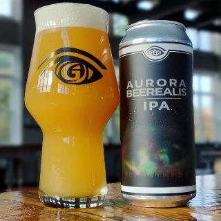 Great Awakening Brewing Company New Craft Beer Release Aurora Beerealis IPA in Westfield