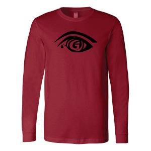 Cardinal Red Long Sleeve TShirt