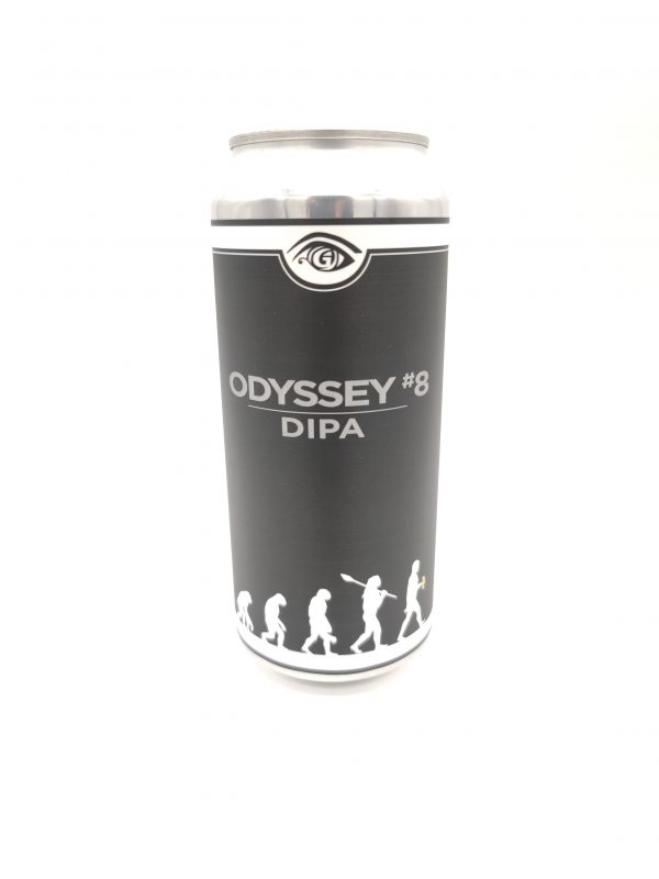 Odyssey #8 DIPA Canned Beer
