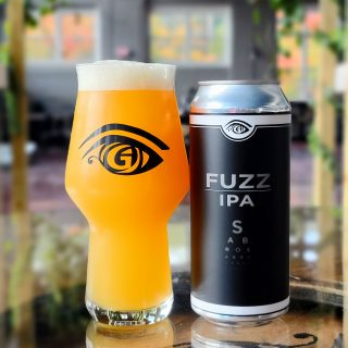 Great Awakening Brewing Company Craft Beer Fuzz IPA on Draft and in Cans in Westfield